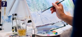Art Night in Frankfurt: An die Pinsel, fertig, prost