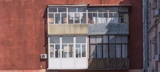 Celebrating the DIY designs of Ukraine's balconies