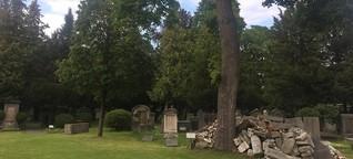 Alter Israelitischer Friedhof in München - Kein Geld, um den Erinnerungszerfall zu verhindern