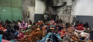 Das Leid der Flüchtlinge in Libyen