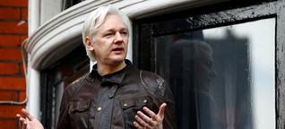Julian Assange: Sieben Jahre auf 20 Quadratmetern