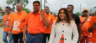 Ende der Ära Bouterse? Surinam hofft auf Veränderung
