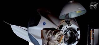 Raumfahrt - Erste Arbeitstage der Crew Dragon-Astronauten