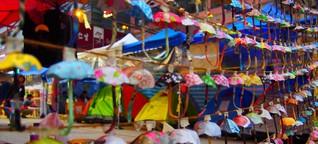 Als Regenschirme noch Hoffnung machten