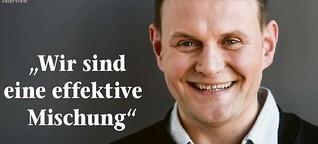 """Interview mit Devid Striesow zur ZDF-Krimi-Serie """"Schwartz & Schwartz"""""""