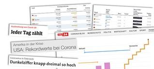 Zahlen, Kurven, Trends: Worauf es bei Corona-Statistiken ankommt