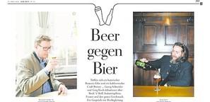Beer gegen Bier