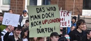 """Protestbewegung gegen Uploadfilter: """"Wir wollen wieder demonstrieren"""""""