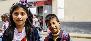 """Kindergewerkschafter in Peru: """"Wir wollen arbeiten!"""""""