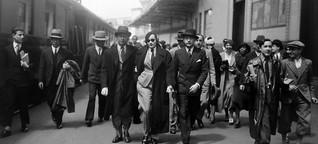 Frauen in Anzügen: Der Hosenbund
