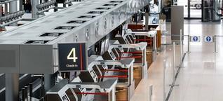 Kurzarbeit am Flughafen