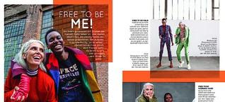 Fashion Advertorial for Zalando's #freetobe-Campaign