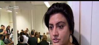 Gestrandete Iraner in Wien_TV-Beitrag_ORF_ZIB Magazin