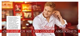 """Interview Matthias Schweighöfer: """"Das habe ich mir von Clooney abgeschaut"""""""