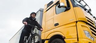 Leipziger Linksfraktion fordert Abbiegeassistenten-Pflicht für Lkw | MDR.DE