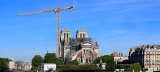 Notre Dame: ein Jahr nach dem Brand