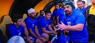 Vom Flüchtling in Würzburg zum Rugby-Nationalspieler im Irak