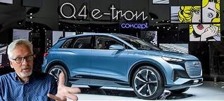 Audi Q4 Sportback e-tron: Die Quattro-Skulptur