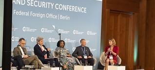 Deutschland bringt Klimakonflikte vor Sicherheitsrat