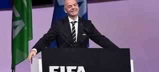 Zur zweiten Amtszeit geklatscht: Imperator Infantino bleibt Fifa-Präsident