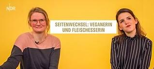 Seitenwechsel: Veganerin und Fleischesserin