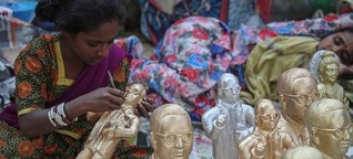 """Religionswechsel in Indien - Warum """"Unberührbare"""" zum Buddhismus konvertieren"""