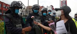 Nepals Jugend protestiert gegen Umgang mit Corona: Ablenkungsmanöver in Kathmandu