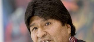 Bolivien: Evo Morales klammert sich an die Macht