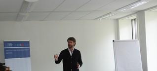 Training zu Rhetorik, Körpersprache und Auftrittswirkung