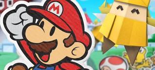 Paper Mario: The Origami King im Test - Handlich zurechtgefaltet