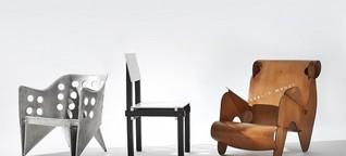 Amsterdamer Stedelijk Museum - Designerstühle, die Gefühle wecken sollen