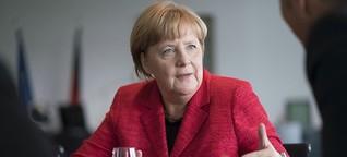 Kanzlerin Merkel im Interview: Digitalisierung voran bringen