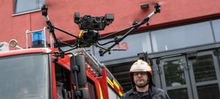 Roboter gegen Waldbrände: Forschung für die Feuerwehr der Zukunft