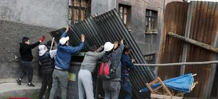 """Drohendes Chaos in Bolivien - """"Sie sind mit Stöcken und Schaufeln bewaffnet"""""""