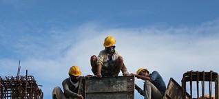 Indische Arbeiter im Lockdown - Industrie bangt zum ersten Mal um Arbeitskräfte