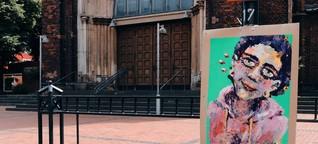 Zwischen Streetart und Galerie - Ein Vorschlag auf 10,5m²