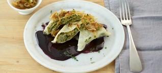 Kulinarische Initiationsriten: Im Täschle versteckt
