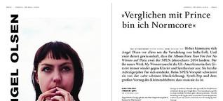 """Vorspiel für Angel Olsen: """"Verglichen mit Prince bin ich Normcore"""""""