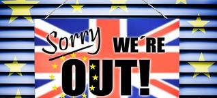 In der Mitte der Seite ein Bruch - Der Brexit in der englischen Literatur