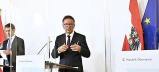 Österreich Reaktionen auf Corona-Ampel - Widerstand aus Linz
