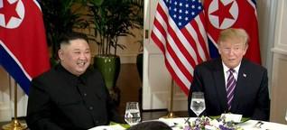 Trump und Kim in Vietnam - ein Gipfel mit gewissen Vorzeichen