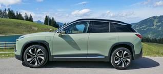 Elektroauto mit chinesischem Komfort: Nio ES6 im Test