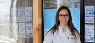 Corona-Alltags-Heldin: Tamara Gabel, 26, Apothekerin, stellt nun selbst Desinfektionsmittel her - DER SPIEGEL - Panorama