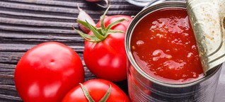 Nachhaltigkeits-Check: Was ist besser - passierte Tomaten aus der Dose oder dem Karton?