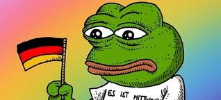 """Wahl zum """"Jugendwort des Jahres"""": Ein Frosch sagt """"Mittwoch"""""""