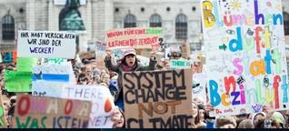 Klimaproteste: Wien sieht keinen Notstand, aber eine Krise