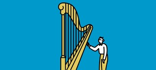 Wie es wirklich ist mit 97 Harfe spielen zu lernen