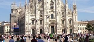 Coronavirus: Italien verliert den Humor nicht. Die Stars: Penne Lisce und Amuchina-Gel.