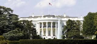 Bibi wäscht im Weißen Haus