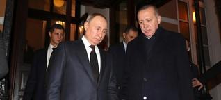 Erdogan legt Feuer in Putins Vorgarten